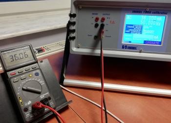 Wzorcowanie Metex M-3850