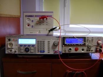 Wzorcowanie testerow wytrzymalosci elektrycznej (3).JPG