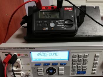 Wzorcowanie UNI-T UT502A