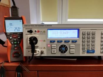 Wzorcowanie Sonel MRP-201