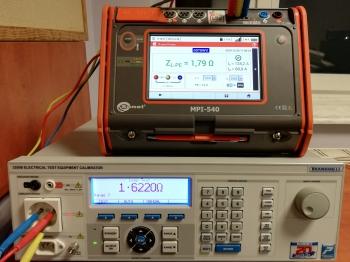 Wzorcowanie Sonel MPI-540 (1)