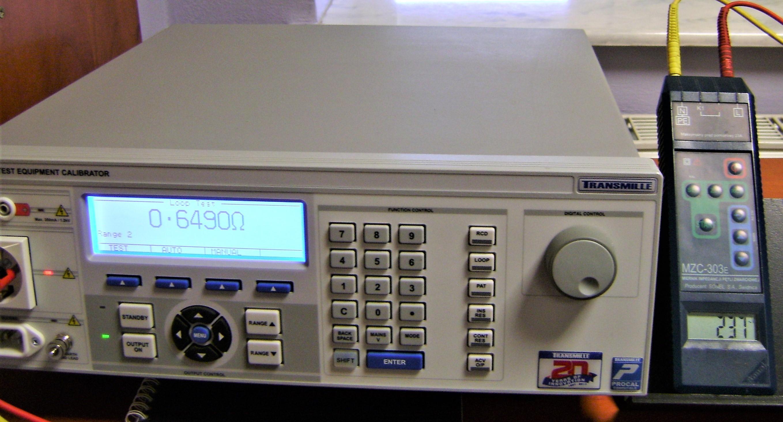 Wzorcowanie / kalibracja mierników impedancji pętli zwarcia